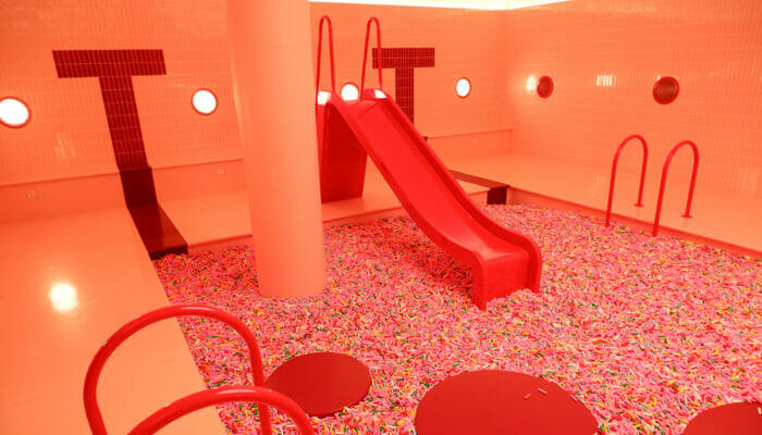 Museum of Ice Cream in New York - Hagelslag Glijbaan