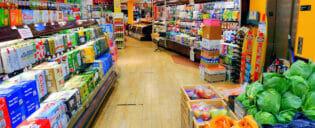 Supermarkten in New York