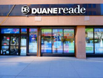 Supermarkten in New York - Duane Reade