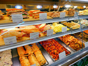 Supermarkten in New York - Whole Foods assortiment