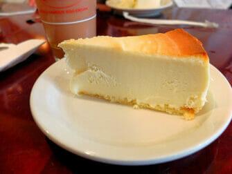 De beste cheesecake in New York - Juniors