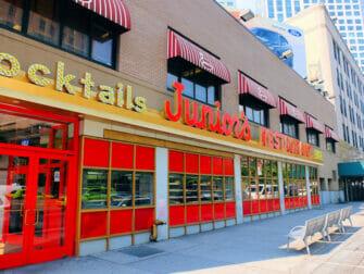 De beste cheesecake in New York - Juniors Brooklyn