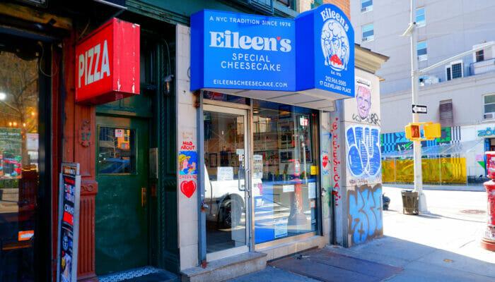 Beste Cheesecake in New York - Eileen's Special Cheesecake