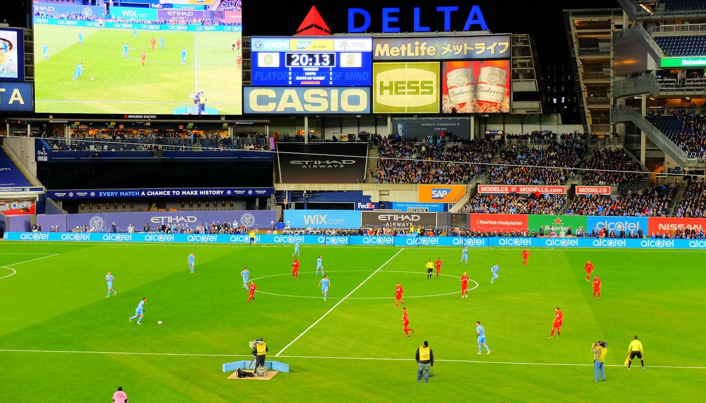 MLS Voetbal in New York