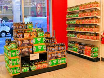 Supermarkten in New York Target New York