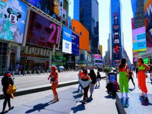 New York Vaccineert Toeristen