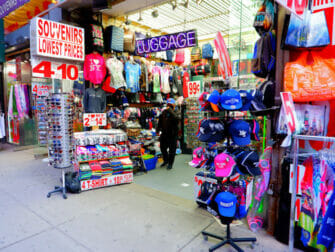 New York Vaccineert Toeristen - Times Square Shop