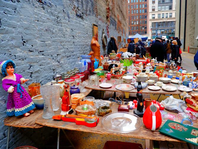 Vlooienmarkten in New York City
