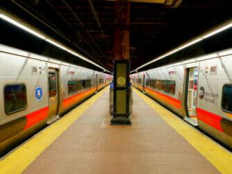 Metro North Railroad in New York - Spoor