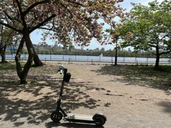 Electric scooter rental in New York - E steps