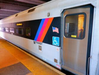 New Jersey Transit in New York - Treinen