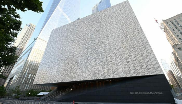 Performing Arts Center in New York – Buitenkant