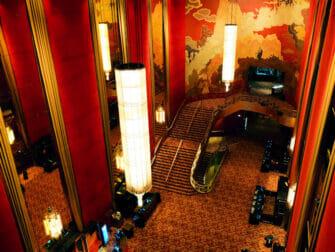 Radio City Music Hall in New York - Interieur