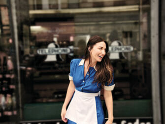 Sara Bareilles Waitress op Broadway Tickets - buiten de Diner
