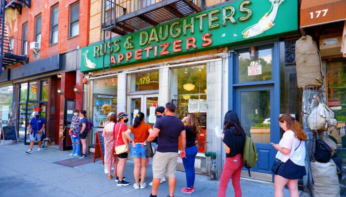 Beste Bagels in New York - Russ and Daughters