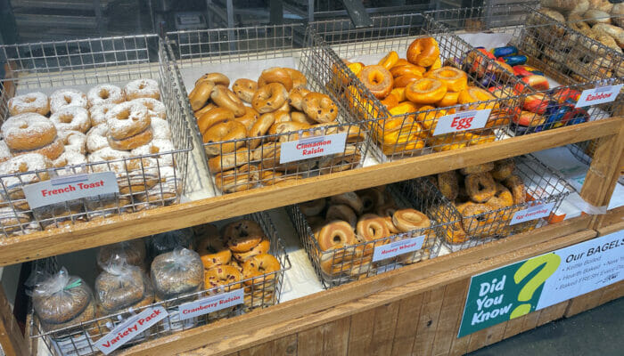 Beste Bagels in New York - Supermarkt