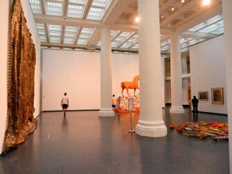 Brooklyn Museum in New York - Binnen in het museum