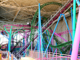 Nickelodeon Universe Amusement Park near New York Tickets Roller Coaster