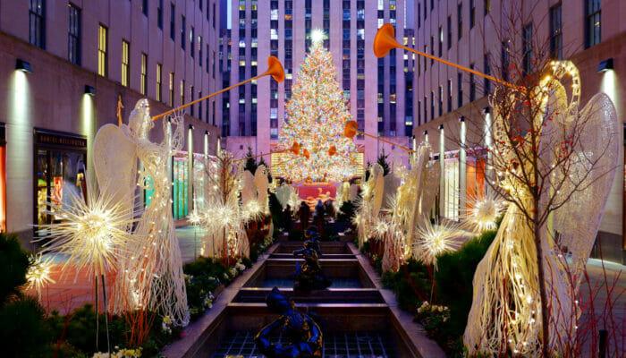 Rockefeller Center Christmas Tree Lighting Ceremonie