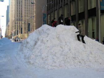 Sneeuw in New York - Sneeuw